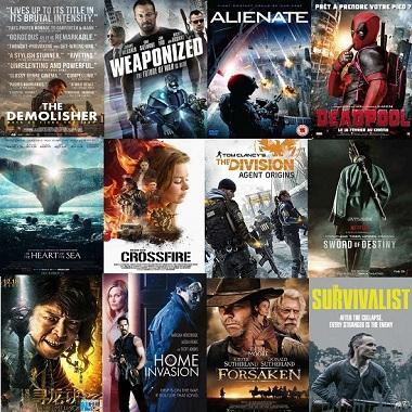 افضل 16 فيلم اكشن وخيال علمي فى شهر فبراير 2016