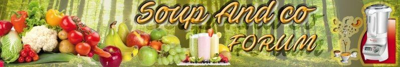 Soup&Co - Communauté de partage de recette et d'expérience