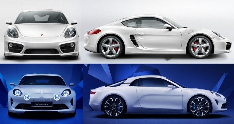 Alpine Vision: Porsche Cayman française ? - Page : 3 - Actualité auto