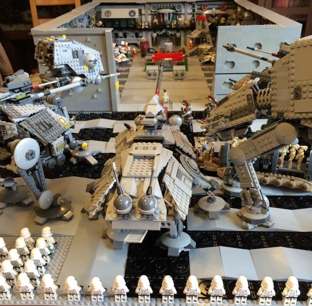 Decor De Fond Star Wars Pour Vitrine