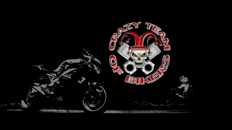 Crazy Team Of Bikers
