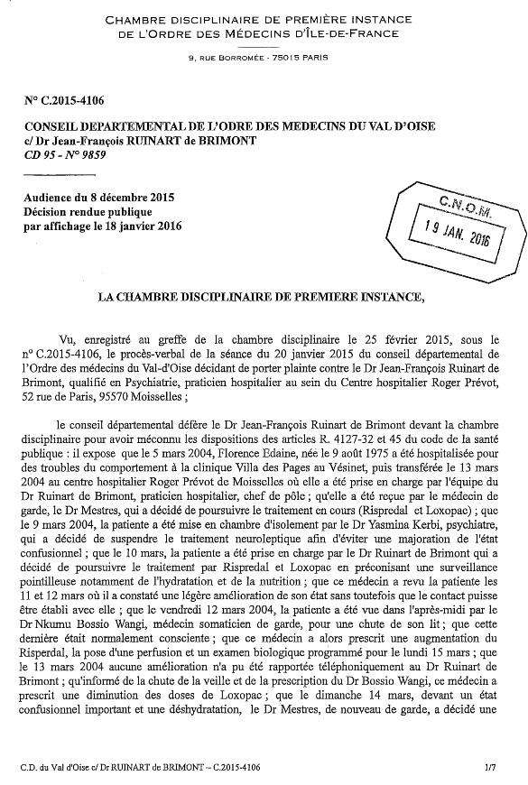 jugement ODM-Ruinart affaire Edaine 1