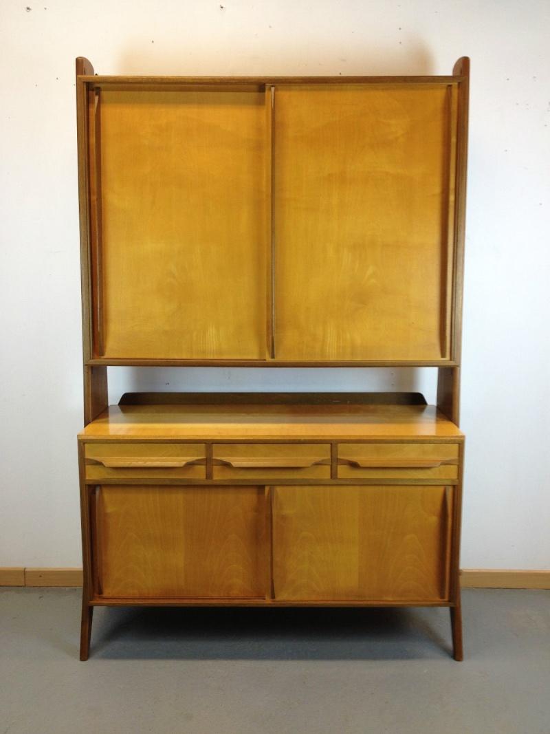 etag res biblioth que vintages shelving wall unit 1950. Black Bedroom Furniture Sets. Home Design Ideas