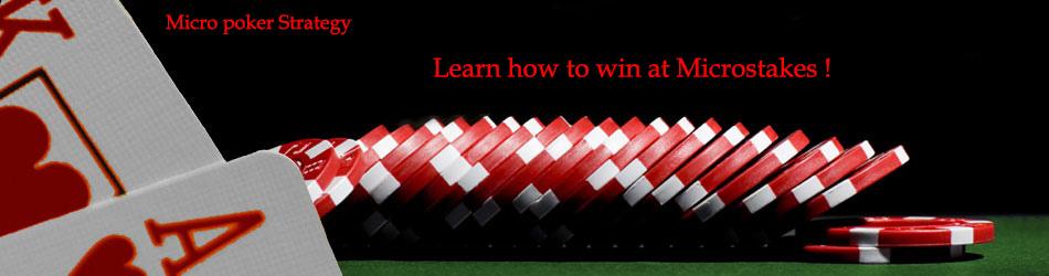 Micro Poker Strategy