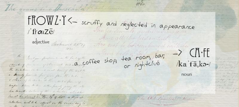 Frowzy Café