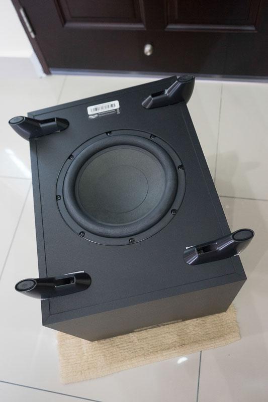 klipsch quintet iv satellite sw 450 sub woofer 5 1 speaker set sold. Black Bedroom Furniture Sets. Home Design Ideas