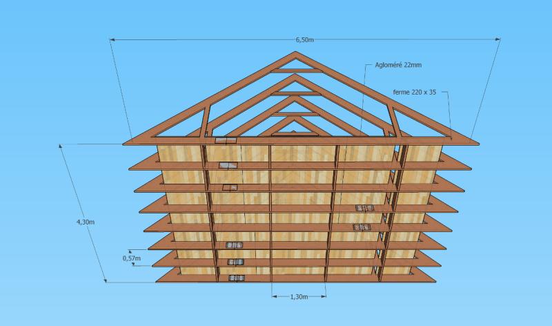 Renforcer un plancher grenier - Comment renforcer une charpente ...